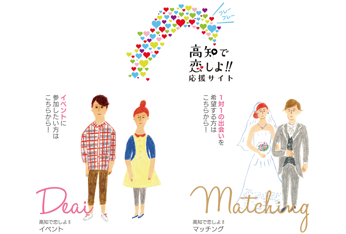 高知で恋しよ!!応援サイトの公式ページ