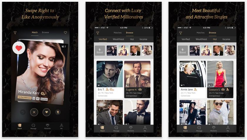 Luxyの公式ページ