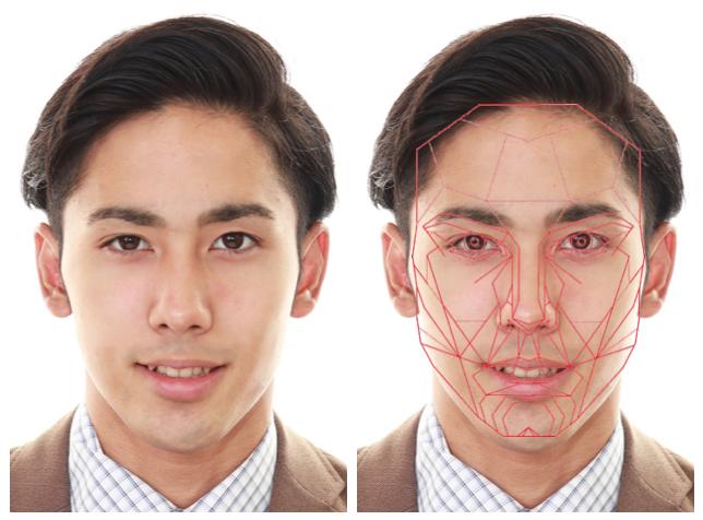顔の黄金比に当てはまる人の例