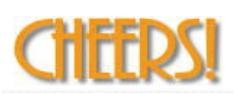 CHEERS!のロゴ