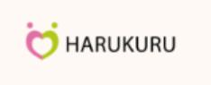 HARUKURUのロゴ