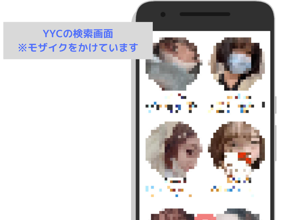 YYCの検索画面