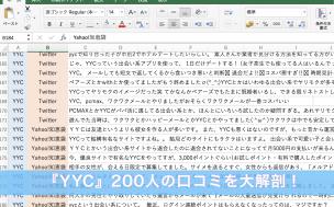 『YYC』200人の口コミを大解剖!